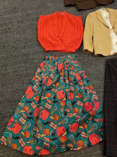 Vintage Lot Of 7 Pieces Women's Clothes Pendleton,