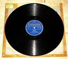 OSCAR PETERSON ~ TENDERLY b/w DEBUT ~ UK COLUMBIA 78 RPM EX+ GRADE