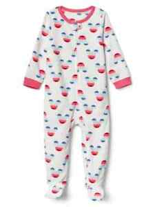 c533fe38031e Gap Minnie Mouse Fleece One Piece Footed Pajamas NWT 2 3 4 5 Years ...