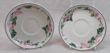 Villeroy & and Boch PALERMO 2 x saucers for tea / coffee / soup bowl