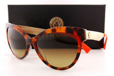 6020a9afb6f Brand New VERSACE Sunglasses VE 4338A 5244 13 Havana Orange Brown For Women