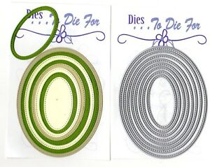 Dies-to-die-for-metal-cutting-craft-die-small-stitched-nesting-Ovals