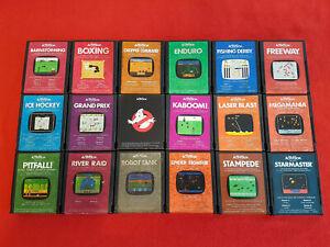 ATARI-2600-Classics-Cartridge-Game-Lot-18-Activision-Titles