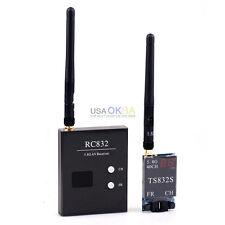 Boscam 40CH 5.8G 600mw Wireless AV Transmitter TS832 Receiver RC832 for TX FPV