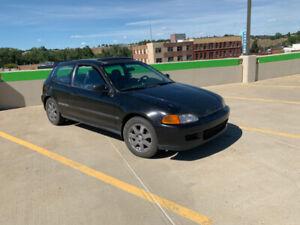 1992 Honda Civic Si - manual hatchback