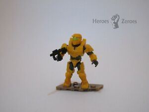Halo Mega Construx Battle for the Ark Series UNSC Yellow Spartan Mark IV w/ SMG