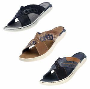 Details zu Bugatti Herren Pantolette Sandalen Slipper Latschen Sommer Freizeit Schuhe 70780