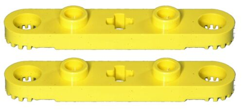 Missing Lego Brick 2711 Yellow x 2 Technic Rotor 2 Blade with 2 Studs