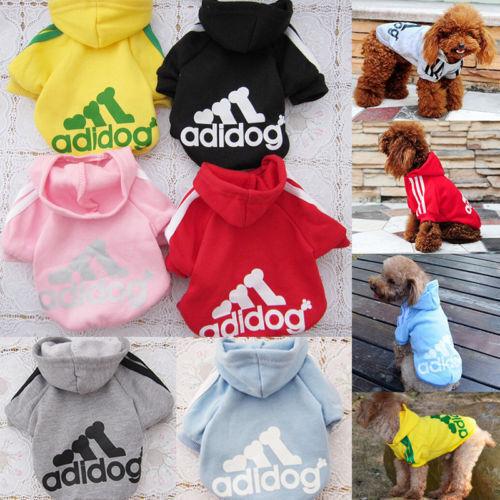 Lässige Kleine Pullover Gr. XXL-9XL für Hunde und Katzen Hoodie Kapuzen Dogbaby 5