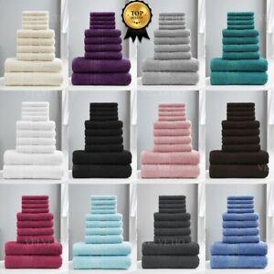 100-Algodon-Egipcio-Toalla-conjunto-bala-10-piezas-de-bano-Toronto-toallas-de-mano-de-cara