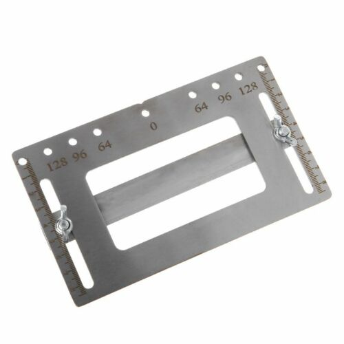 Stainless Cabinet Handle Jig Template Punch Locator Drill Guide Tool Woodworking