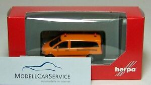 Herpa 092555 Mercedes Benz Vito Bus Construction Vehicle