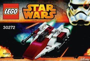 LEGO-STAR-WARS-A-WING-STARFIGHTER-30272-Polybag-BNIP