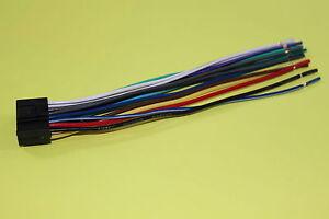 Details about Wire Harness for Kenwood KDC348U DDX771 DDX393 DDX8901HD on