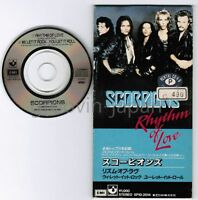 "SCORPIONS Rhythm Of Love /We Let It Rock You Let JAPAN 3"" CD XP10-2014 Free S&H"