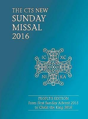(Good)-CTS Sunday Missal 2016 (Paperback)-Catholic Truth Society-1784690716