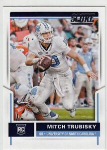 MITCH TRUBISKY 2017 Rookies & Stars #1 Draft Pick Rookie Card RC Logo Bears HOT Amerikaans voetbal