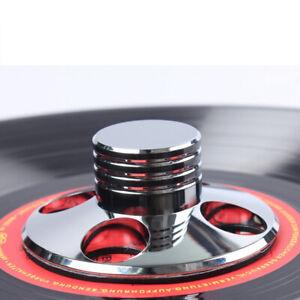 silber-Audio-Plattengewicht-Disc-Stabilizer-Record-Weight-LP-Turntable-Clamp