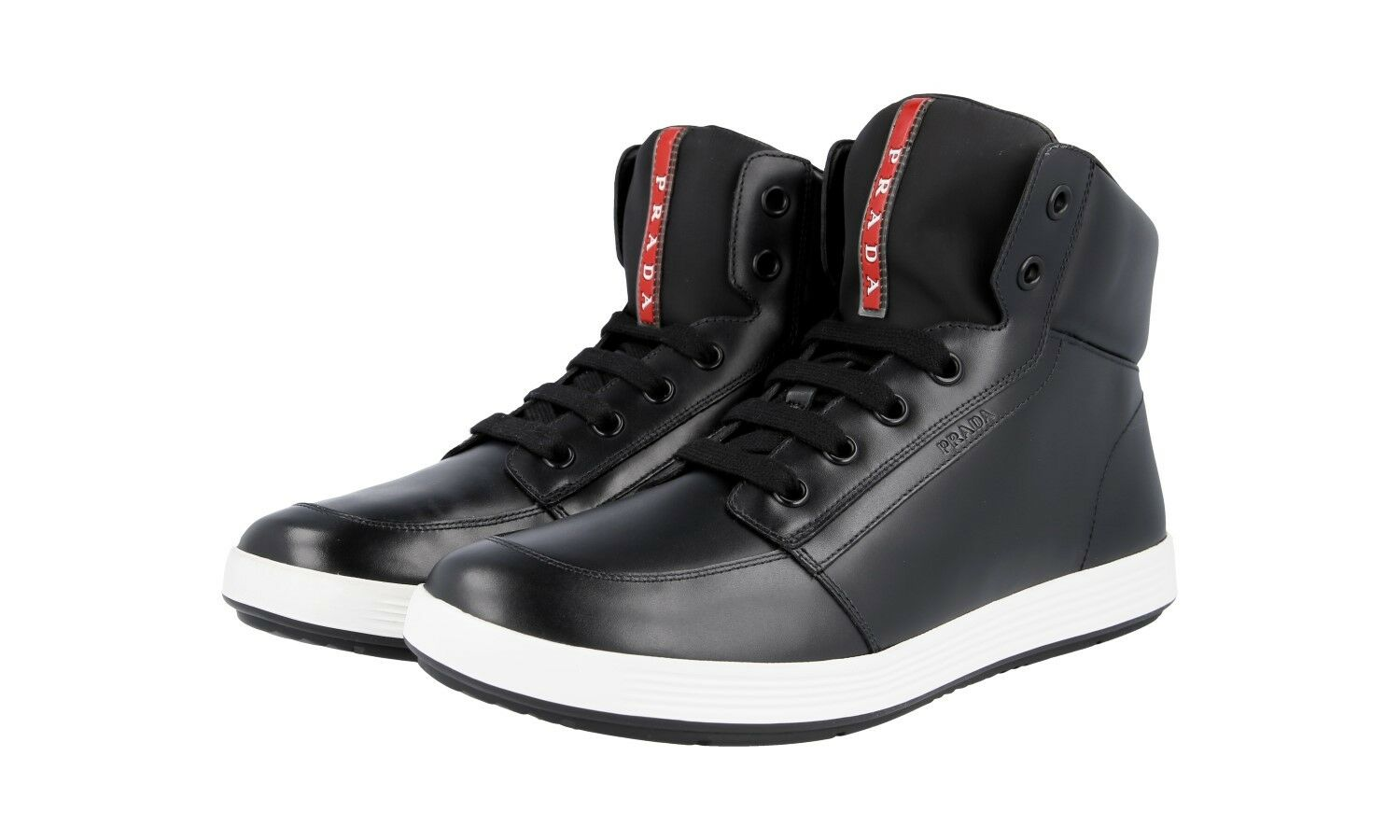 shoes PRADA LUSSO 4T2843 black NUOVE 9 43 43,5