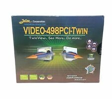 Jaton Nvidia GeForce 9400 GT Video-498PCI-Twin Graphics Card 1 GB DDR2 128-bit
