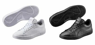 Puma Smash v2 L Jr Low Top Unisex Children Ladies Shoes