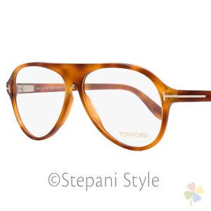 a7f5101f002a5 Tom Ford Oval Eyeglasses TF5319 053 Size  56mm Blonde Havana FT5319 ...