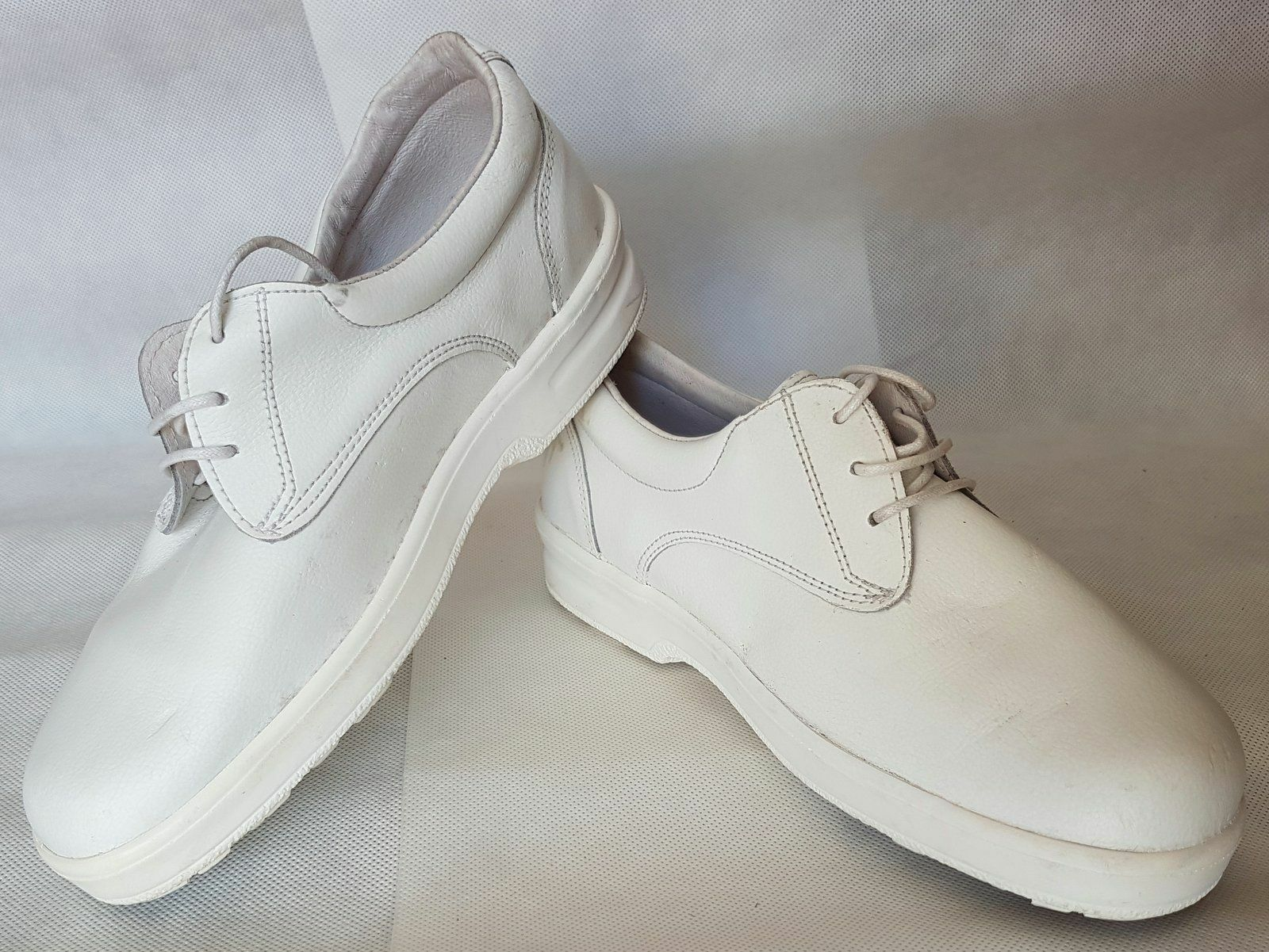 Toffeln Leather Lite Antistatic size 41/8 white
