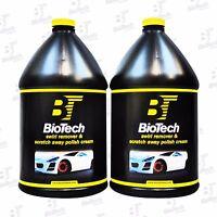 Swirl Remover & Scratch Away Polish Cream Bio-tech 128 Oz (2 Gallons)