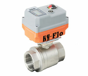 """4-20ma 1/2"""" 24VAC/DC Proportional Integral Control Electrical Motorized Valve"""