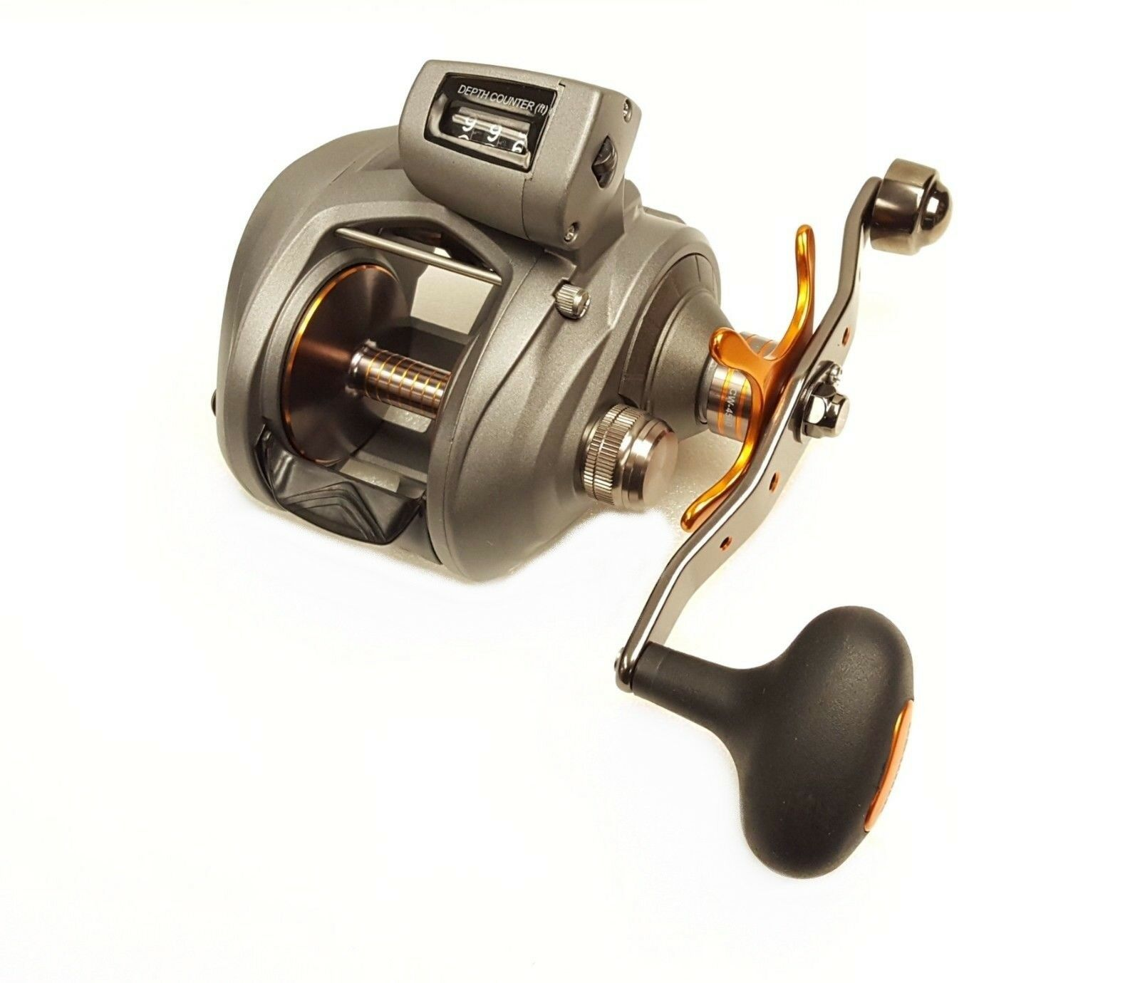 Okuma Cold Water Line Counter 5.4 1 Baitcast Reel, Right Hand - CW-454D