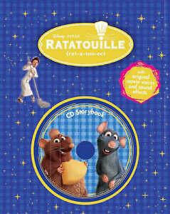 Disney-Ratatouille-Book-amp-CD-Very-Good-Book