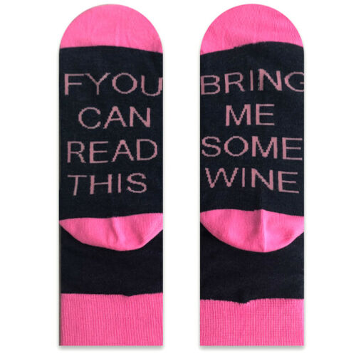 Christmas Womens Men If You Can Read This Bring Me a Beer Sock Warm Soft Socks