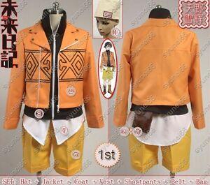 Future Diary Amano Yukiteru Cosplay Costume Custom Any Size