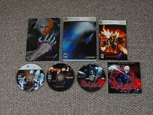 Devil-May-Cry-4-Collector-039-s-Edition-Xbox-360-Complete-amp-Animated-Series-Disc