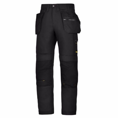 Snickers Trousers 6200 AllroundWork Holster Pocket Trousers Mens Black Pre