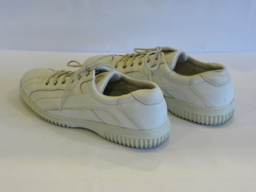 Leather Gr8 sporty Athletic Soft Ecco flats White 10m EHqvxwfn