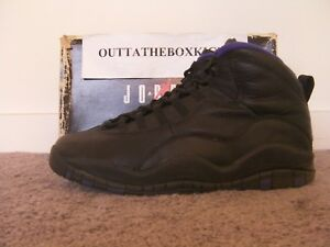 separation shoes e89c6 66458 Image is loading Nike-Air-Jordan-X-10-OG-Sacramento-Kings-