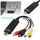 1 Channel USB 2.0 Video TV DVD VHS Audio Capture Adapter for Win 7 8 XP Vista