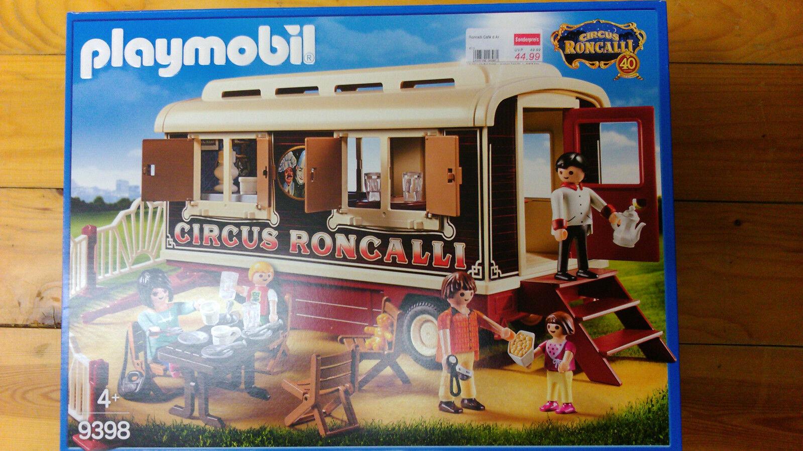 Playmobil: Oldtimer Wohnwagen Zirkus Roncalli (9398)