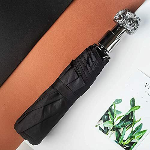 , Special Owl Handle,Quality Windproof Fast Drying Compact Folding Travel
