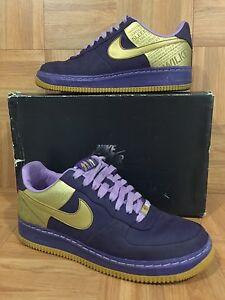 RARE-Nike-Air-Force-1-Supreme-07-Wilkes-Quasar-Prpl-Gold-Orchid-8-5-315088-571