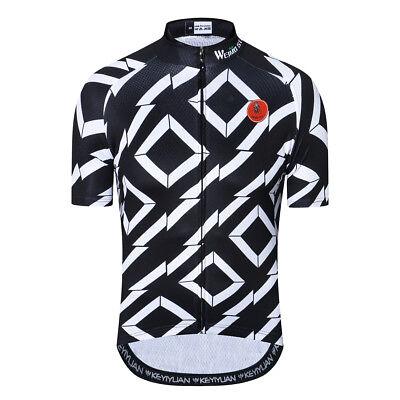 WEIMOSTAR Mens Bike Bicycle Cycling Jerseys Short Sleeve Clothing Riding Shirts