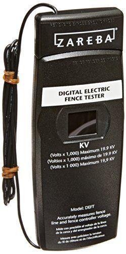 Zareba DEFT-Z Digital Electric Fence Tester
