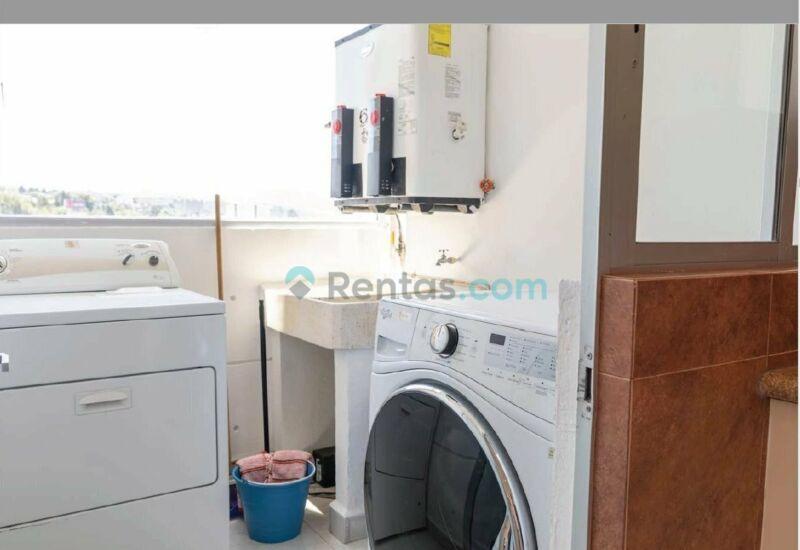 Renta de departamento 3 habitaciones  en Santa fe