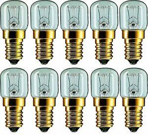 Backofenlampe Lampe Glühlampe Glühbirne E14 15Watt für Backofen bis 300°C