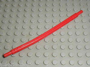 Lego technic red axle flexible 12 ref 32200//set 8258 8145 8272 8386 8448 8046