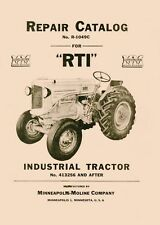 Minneapolis Moline R Rti Parts Manual Catalog 413256