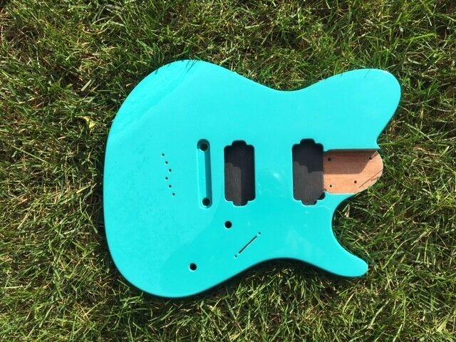 Mahogany FR Right Hand 6 string guitar body, AANJ - RB10