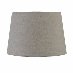 Verve design lamp shade 28x24x20cm medium natural linen fabric dawn image is loading verve design lamp shade 28x24x20cm medium natural linen aloadofball Images