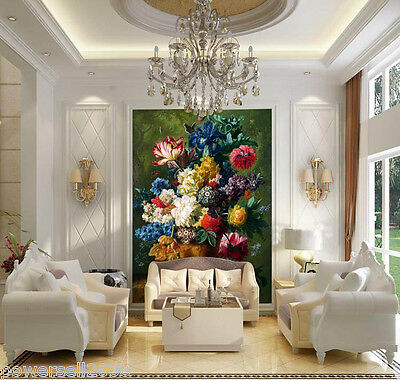 * European Floral Environmental Decoration Customized Wallpaper/Wall Paintings